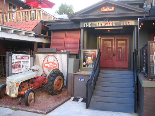 bizarre tractor room bar in hillcrest