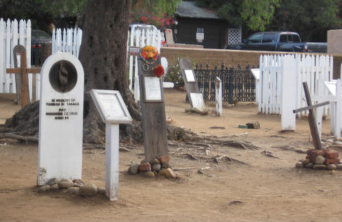 graveyard contains early san diego residents