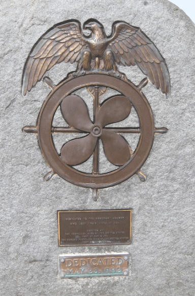 merchant seamen plaque in san diego