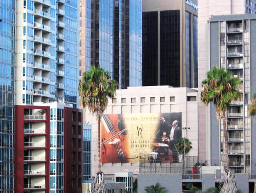 san diego symphony banner downtown