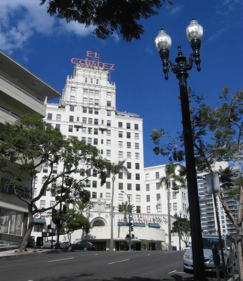 san diego's landmark el cortez hotel
