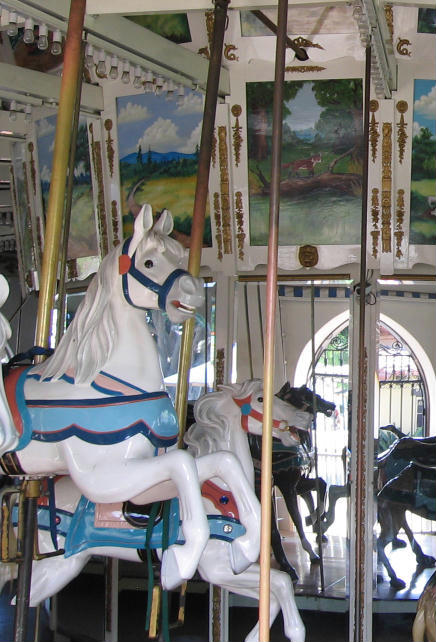 seaport village carousel horses
