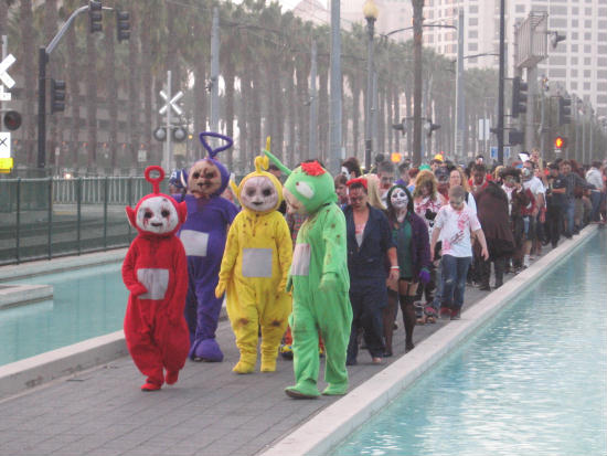 teletubby zombies lead assault on san diego