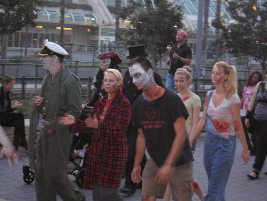 walking dead approach san diego's gaslamp