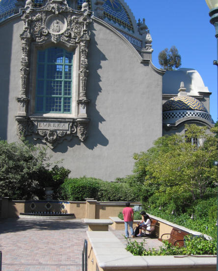 a pleasant nook in balboa park