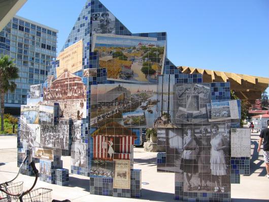 mosaic of old photos shows coronado history