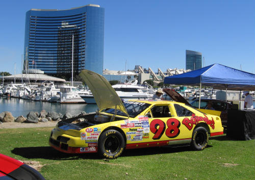 cool bojangles car by marriott marina