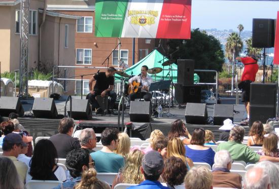 musicians perform at festa in san diego