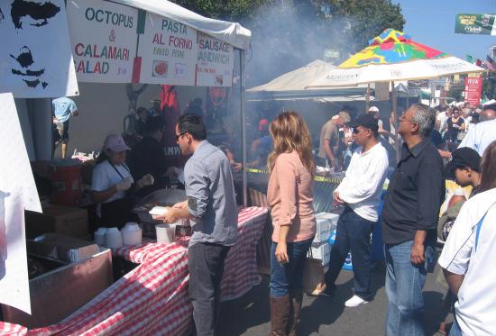 italian food galore at little italy's festa