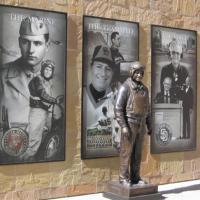 Jerry Coleman memorial statue at Petco Park.