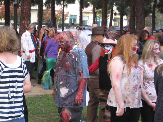 miserable zombies seem quite decayed