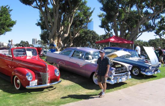 mustangs by the bay and cool cars