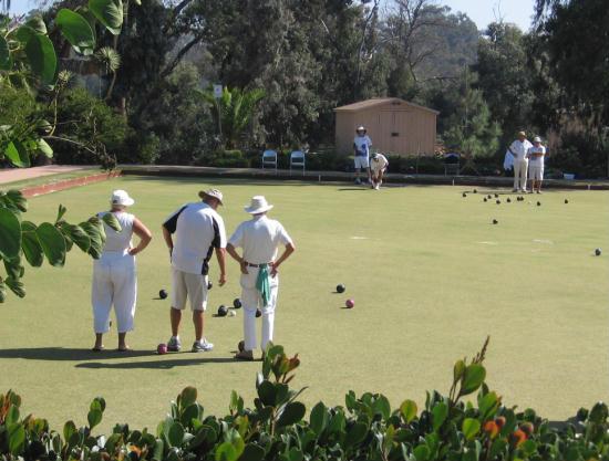 san diego lawn bowling club in balboa park