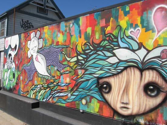 super cool street art in san diego