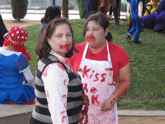 zombie chefs want a kiss of fresh blood