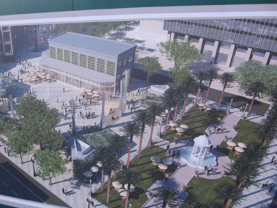 How the new Horton Plaza Park will look at completion.