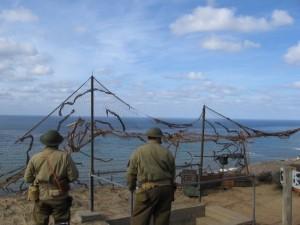 08 Mock air raid drill recalls duties during World War II.
