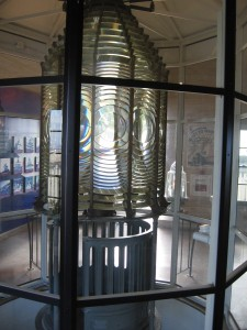 13 A small museum by the lighthouse includes the original Fresnel lens.