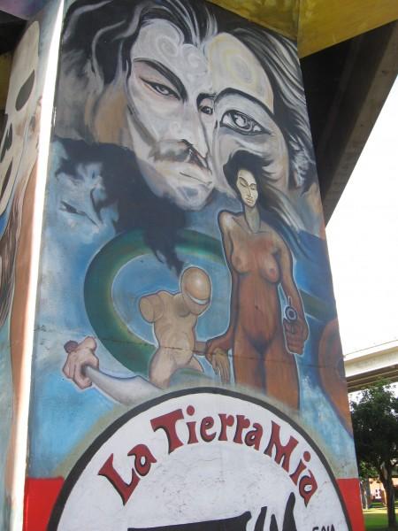 16 La Tierra Mia is Spanish for My Land.