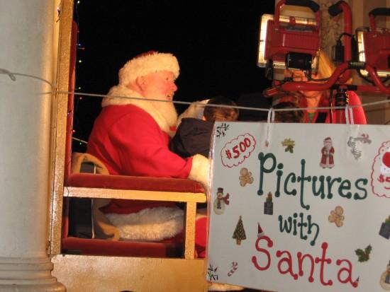 One of several Santas in Balboa Park.