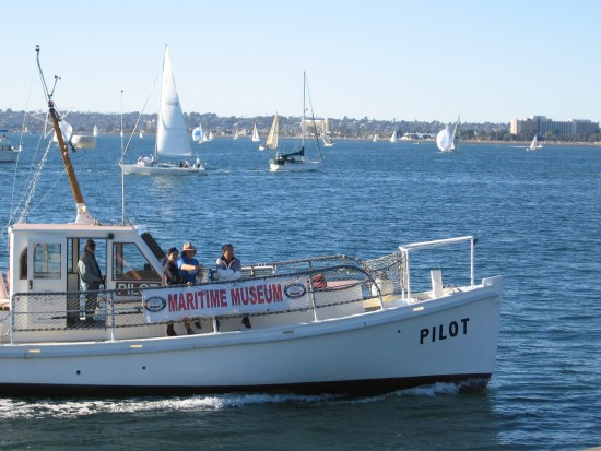 San Diego Maritime Museum's historic pilot boat.