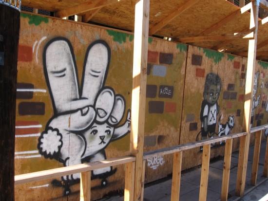 Street art on 8th Avenue in downtown San Diego.