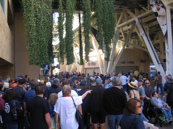 San Diegans fill Petco to demonstrate their love for Jerry.