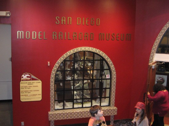 Kids love the San Diego Model Railroad Museum.