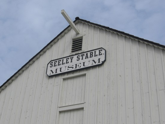 Front of the Seeley Stable Museum in Old Town.