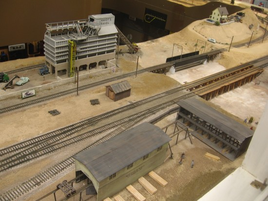 Attention to detail makes these model train exhibits lifelike.