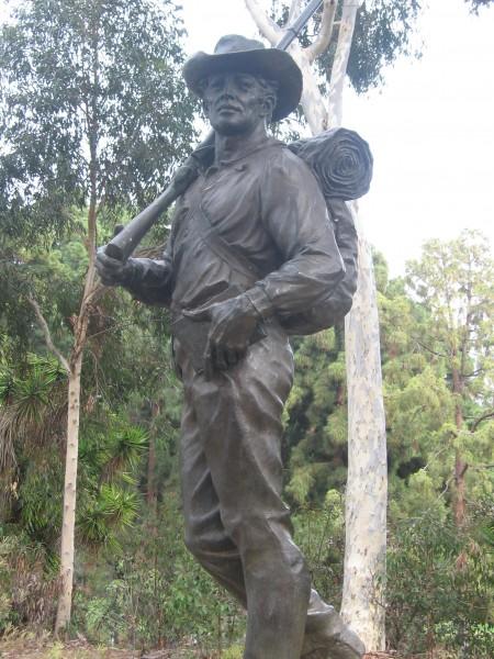 Mormon Battalion Monument by Edward J. Fraughton.