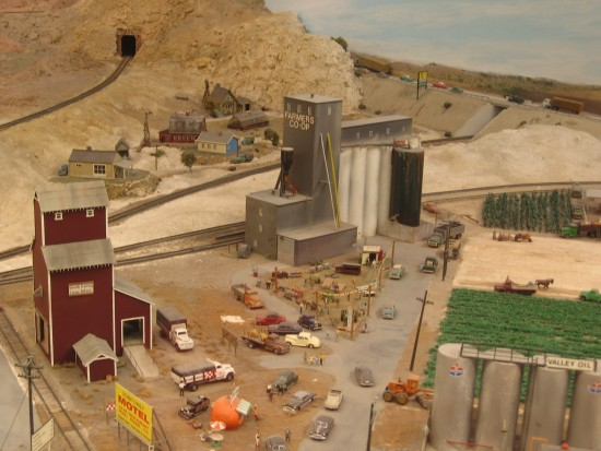 These huge train exhibits are a child's fantasy come to life!
