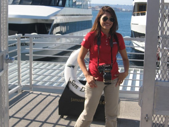 Harbor cruise photographer get photographed!