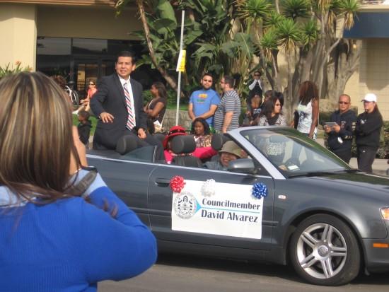Candidate for San Diego Mayor, David Alvarez.