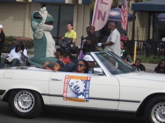 Gecko celebrates Martin Luther King Jr. birthday.
