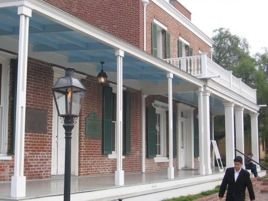 Old Town's historic Whaley House.