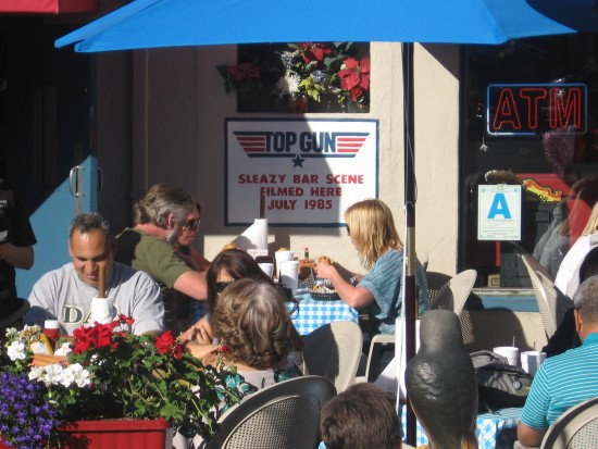 People Dine Where Scenes From Top Gun Were Filmed.