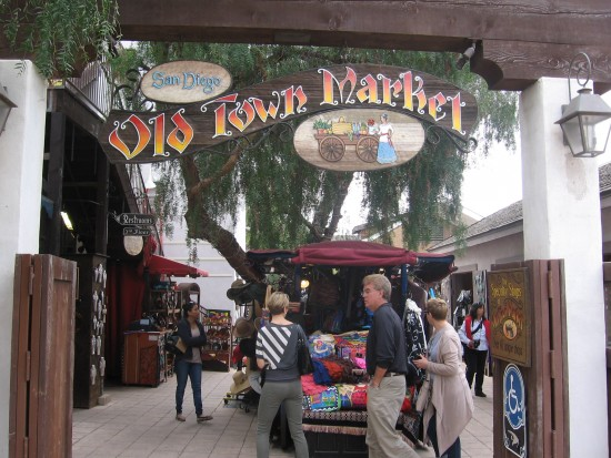 The Old Town Market is one very popular destination.