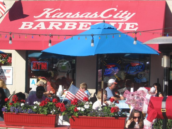 The very popular Kansas City Barbeque in downtown San Diego.