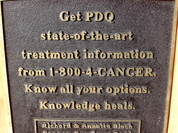 Get state of the art treatment. Know all your options. Knowledge heals.