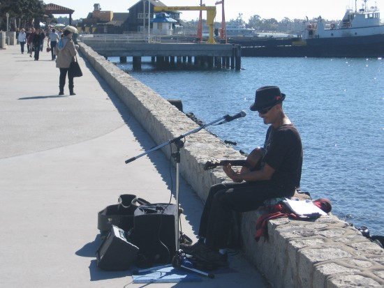 A beautiful day by the water put to music.