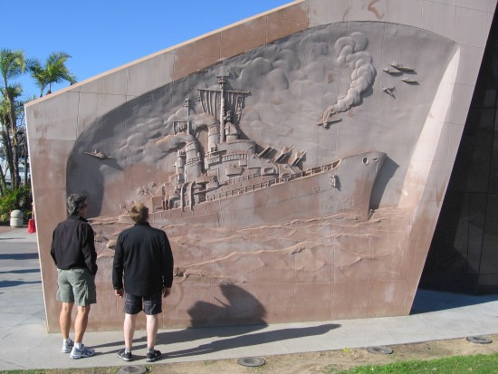 Guys check out the USS San Diego Memorial.