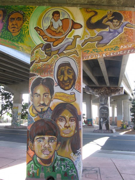 Faces tell many stories in Chicano Park.