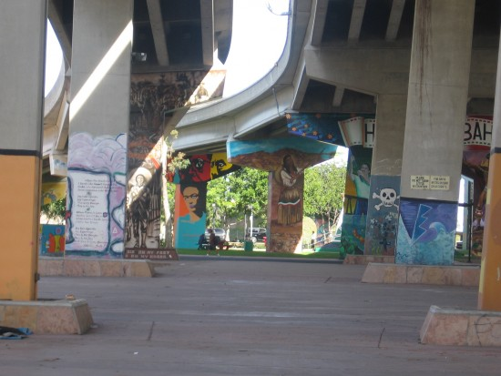 A world of murals can be found in Chicano Park.