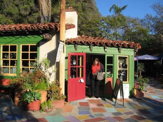 Studio 29 in Balboa Park's Spanish Village.