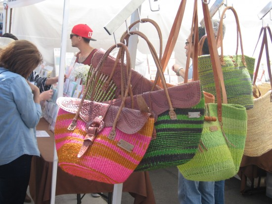 Purses of every hue at one of over 150 booths!