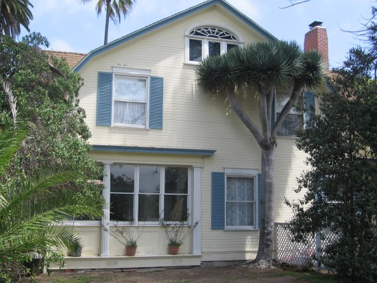 The Wizard of Oz house is located in Coronado, the Emerald City.