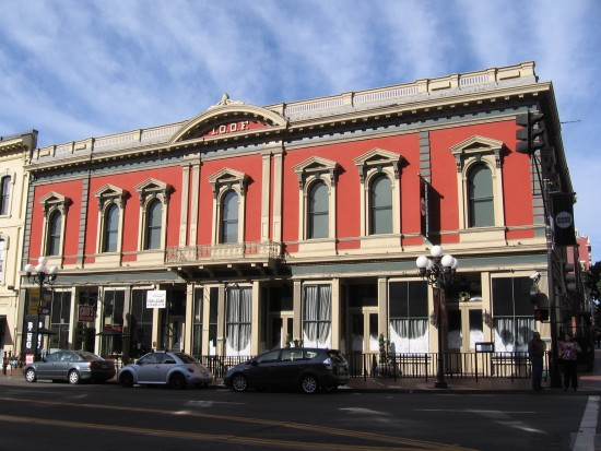 1882 Independent Order of Odd Fellows building.