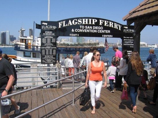 The Coronado ferry is great short cruise on the bay.