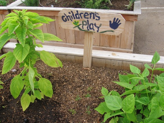Children learn to love gardening and being outside.